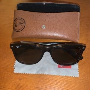 Ray Ban Polarized Sunglasses Cheetah Brown